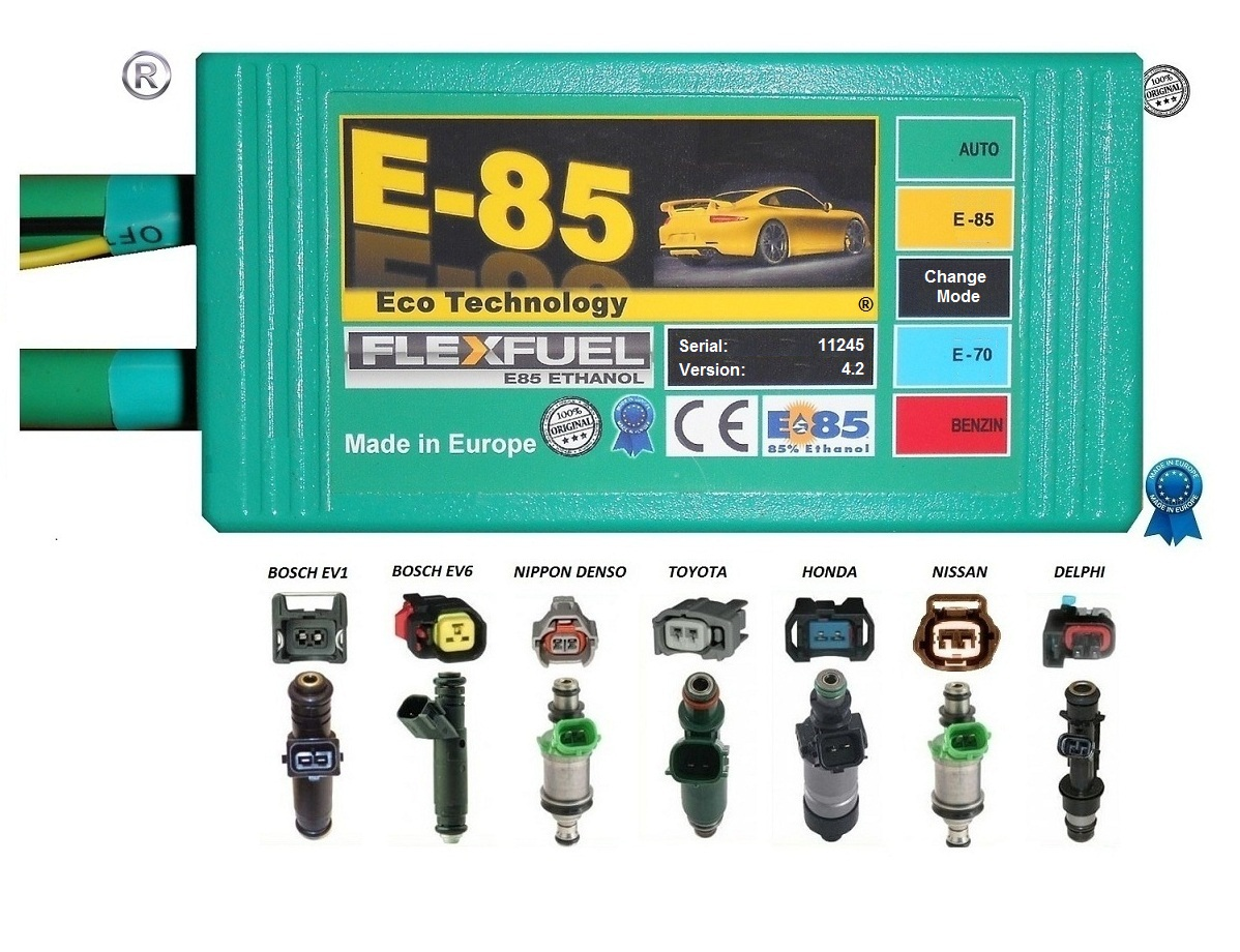E85 Ethanol Conversion Kit V5-V6-V8 cylinder engine v4.2