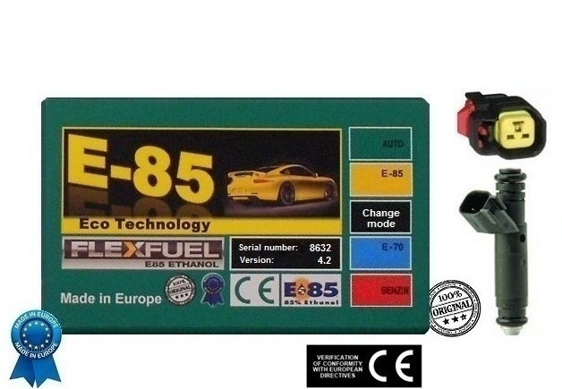E85 Ethanol Conversion Kit Bosch-EV6 v4.2